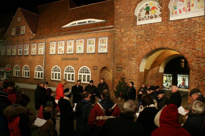 Pohnsdorf Weihnachtsmarkt.Neustadt In Holstein