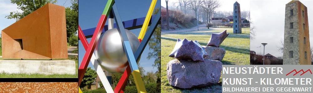 Objekte des Neustädter Kunst-Kilometers
