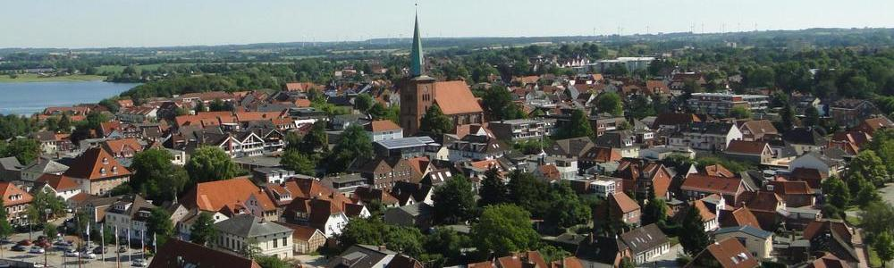 Luftbild der Neustädter Altstadt