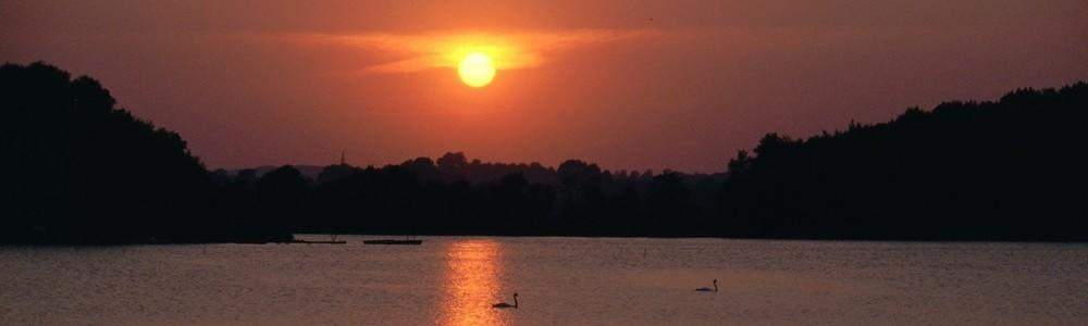 Sonnenuntergang am Neustädter Binnenwasser