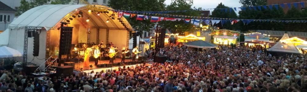 Konzert der Gruppe Santiano auf dem europäischen folklore festival 2013
